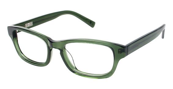 775 Eyeglasses, Olive Crystal
