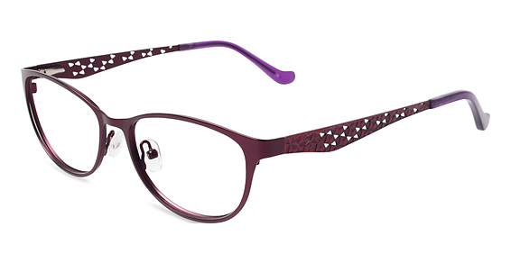Flatter Eyeglasses, Purple
