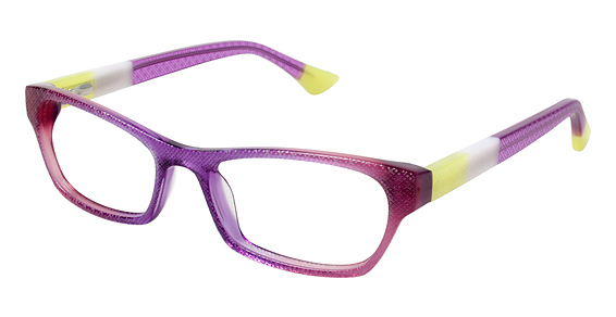OT 62 Eyeglasses, Purple