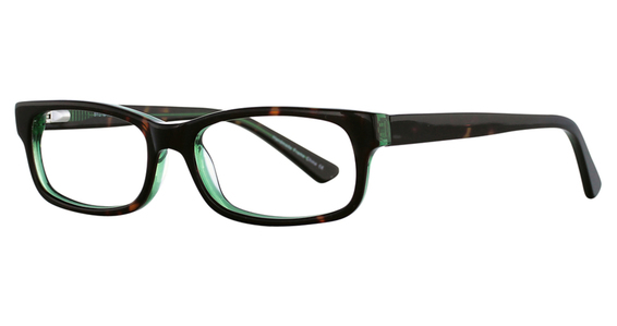3003 Eyeglasses, Tortoise/Green
