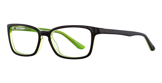 Uptown Eyeglasses, Purple/Lime
