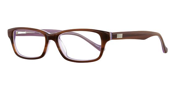 Plug Eyeglasses, Brn/Blue