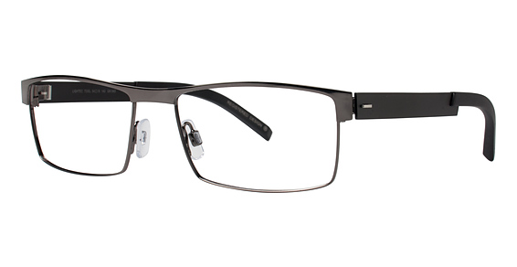 7330L Eyeglasses, Gun/Black