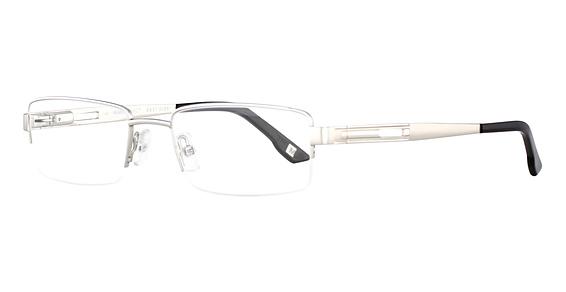 M-CORTLAND Eyeglasses,  Shiny Silver