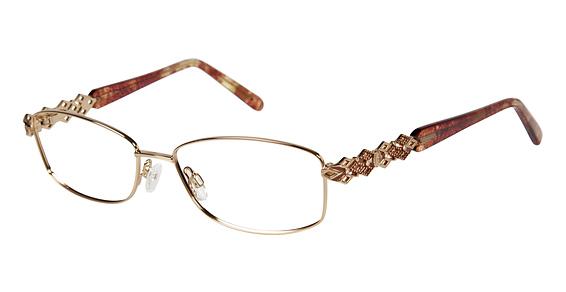 Image of 055 Eyeglasses, Gold