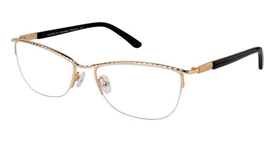 Gloria Eyeglasses, Gold
