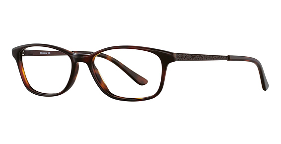 Structure 105 Eyeglasses, Red Tortoise