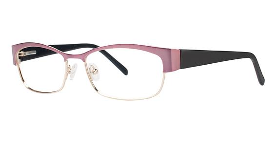 Commit Eyeglasses, Mauve/Gold