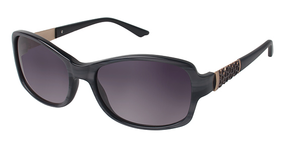 916003 Sunglasses, Grey Horn