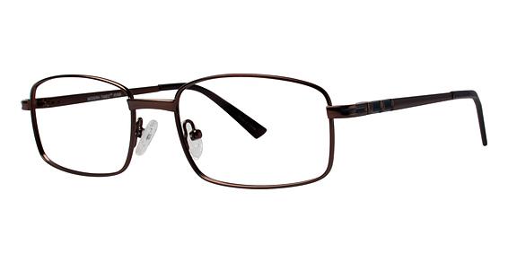 Ryan Eyeglasses, Matte Brown