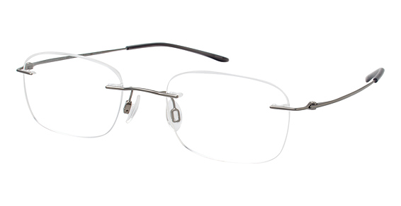 TI 8600 (Chassis Only) Eyeglasses, Light Gray