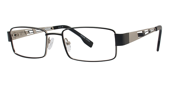 Blu 115 Eyeglasses, Satin Black