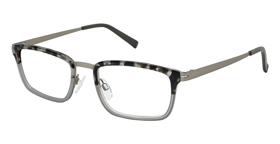 T 146 Eyeglasses, grey / tort