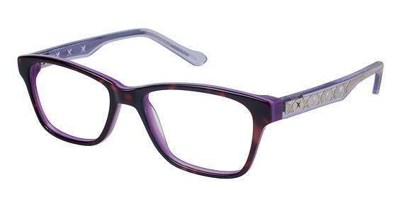 Broadway Eyeglasses, TORT/CRST/PRPLE