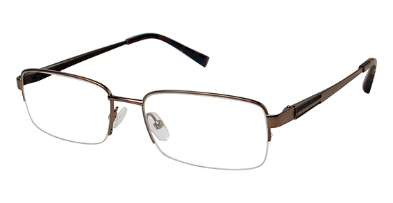 T 148 Eyeglasses, Brown