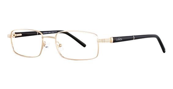 L 3000 Eyeglasses, Gold/Black