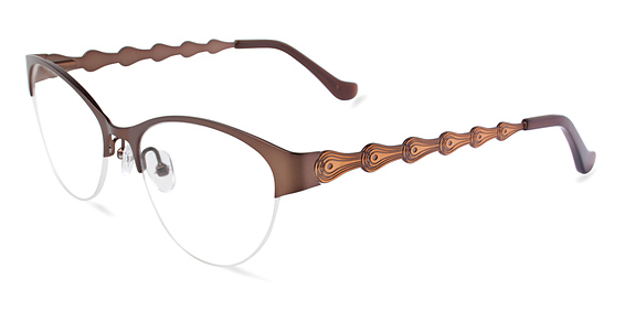Paradise Eyeglasses, Brown