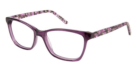 Cascade Park Eyeglasses, Eggplant