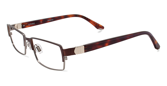 SP 2002 Eyeglasses, Brown