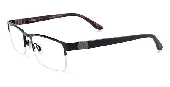 SP 2004 Eyeglasses, Black