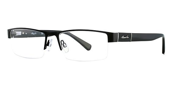 Image of KC 0217 Eyeglasses, Matte Black/Black