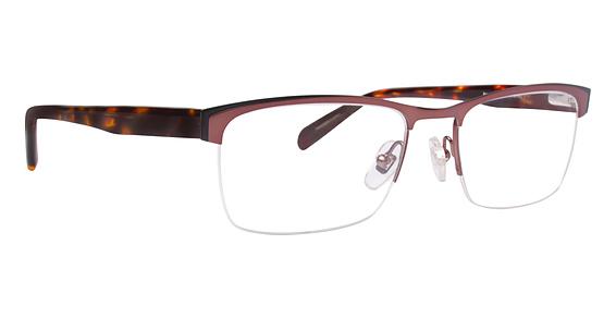 Williams Eyeglasses, Brown