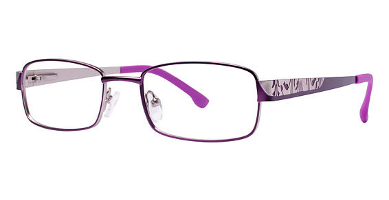 Blu 128 Eyeglasses, Purple