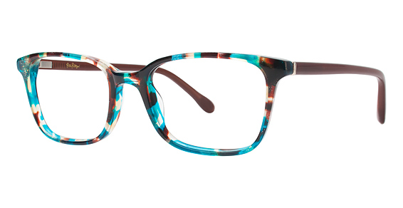 Witherbee Eyeglasses, Aqua Tortoise