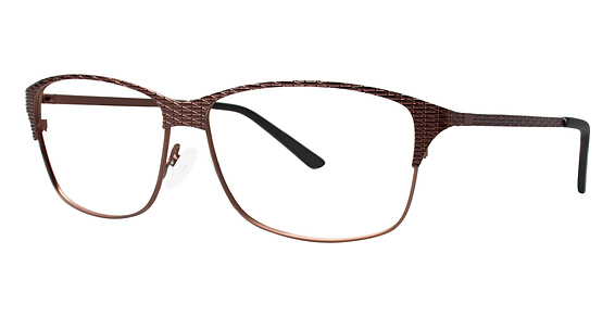 A 365 Eyeglasses, Dark Brown/Brown