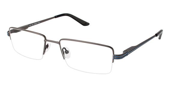 I-105 Eyeglasses, Gunmetal
