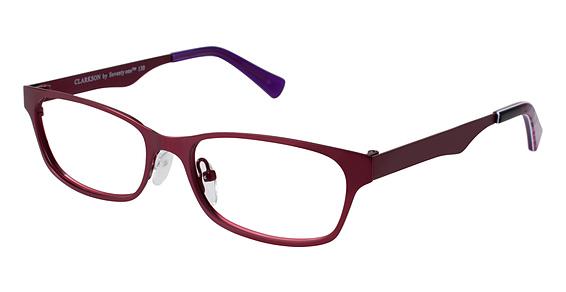 Clarkson Eyeglasses, Burgundy