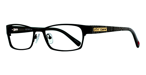 Betsey Johnson Girlfriend Eyeglasses, Burgundy