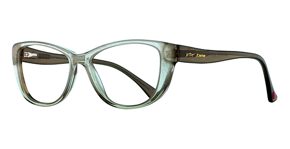 Betsey Johnson Glam Eyeglasses, Gold