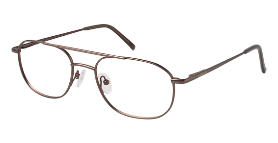 Image of Benjamin Eyeglasses, Satin Brown