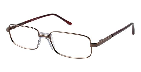 M 552-P Eyeglasses, Brown