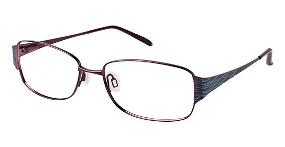EL 13391 Eyeglasses, Red