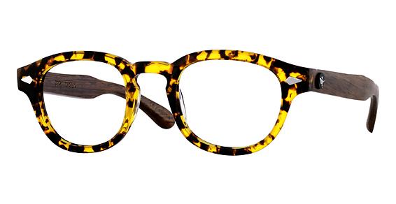 Chaplin Sunglasses, Tortoise Clear