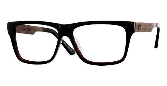Ricks Sunglasses, Black Clear