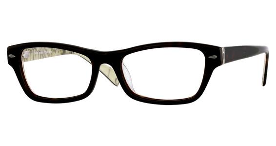 TK 970 Eyeglasses, Dark Purple & Marb.Plum