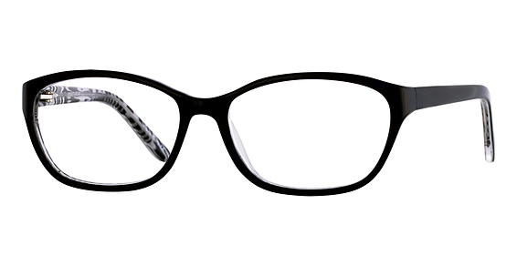 Structure 96 Eyeglasses, Black