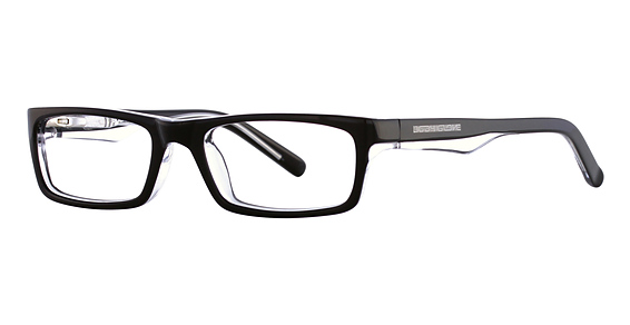 Image of BB 125 Eyeglasses, Black/Blue Crystal