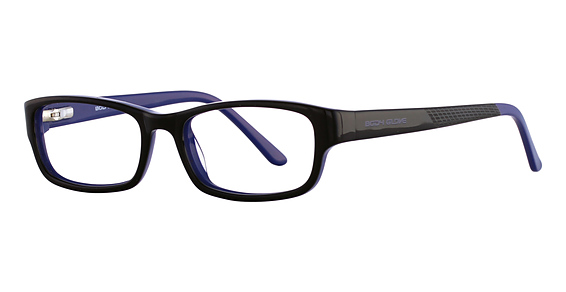 Image of BB 126 Eyeglasses, Black/Blue