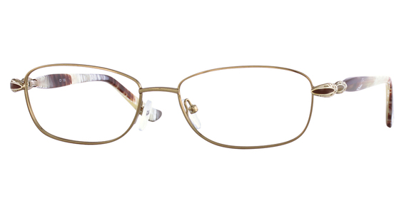 1063 Eyeglasses, BROWN / PLUM