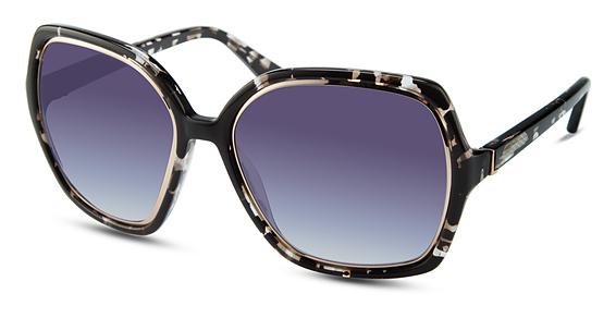 BROADWAY Sunglasses, Black Marble