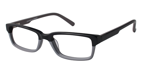 OT 65 Eyeglasses, Black/Grey