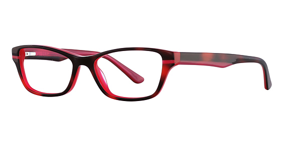 Clover Eyeglasses, Black Cherry