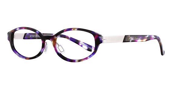 Betsey Johnson Baby Eyeglasses, Blue Red