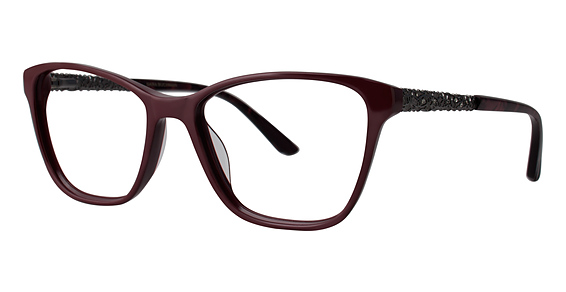 Fauve Eyeglasses, Crimson