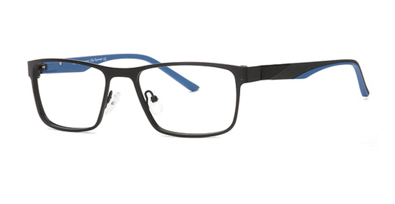 Image of AIRMAG A 6241 Sunglasses, Black/Blue