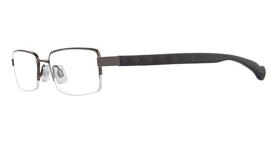 Rocker Eyeglasses, Gunmetal
